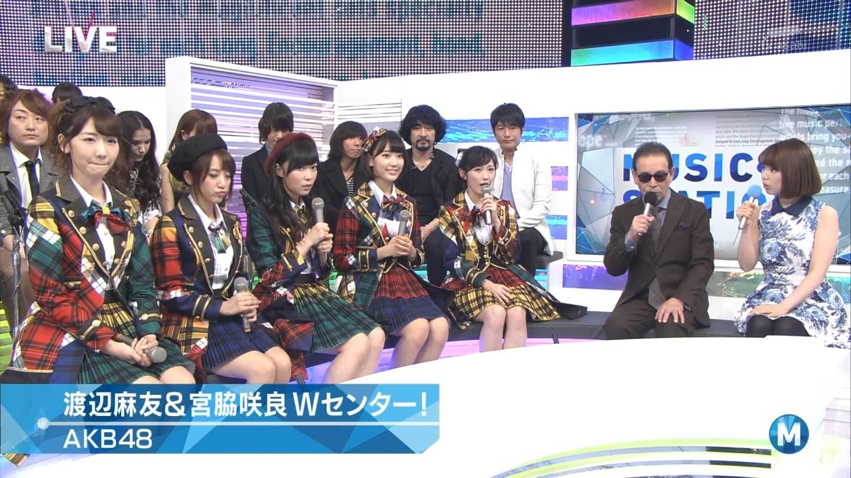 宮脇咲良 Mステ AKB48希望的リフレイン20141121 (29)