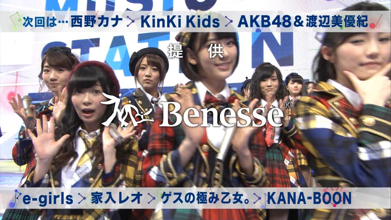 宮脇咲良 Mステ AKB48希望的リフレイン20141121  (109)