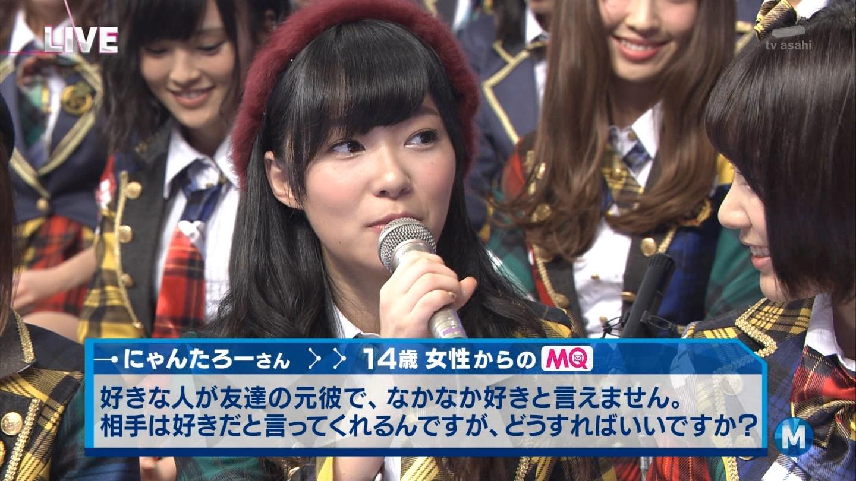 宮脇咲良 Mステ AKB48希望的リフレイン20141121  (97)
