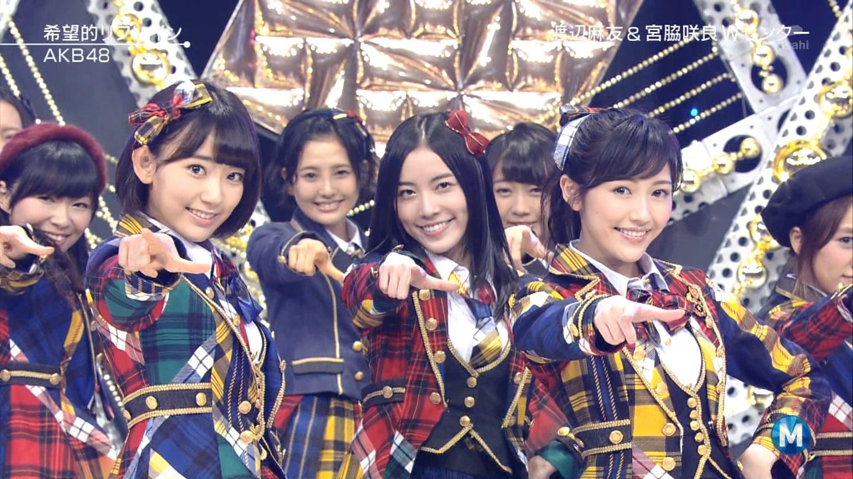 宮脇咲良 Mステ AKB48希望的リフレイン20141121 (87)