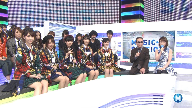 宮脇咲良 Mステ AKB48希望的リフレイン20141121 (41)