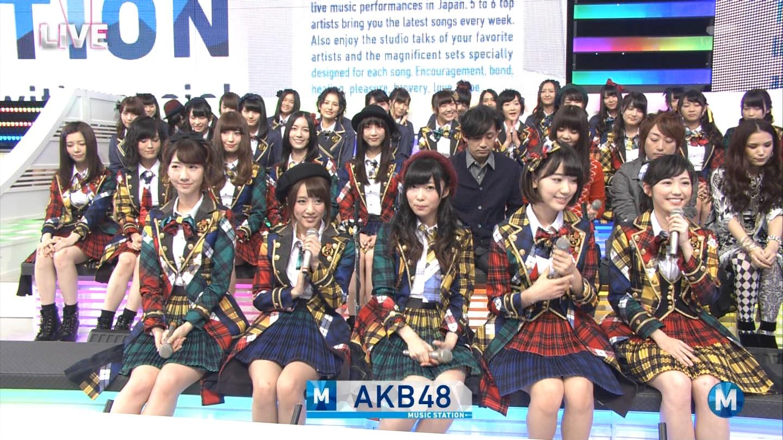 宮脇咲良 Mステ AKB48希望的リフレイン20141121 (14)