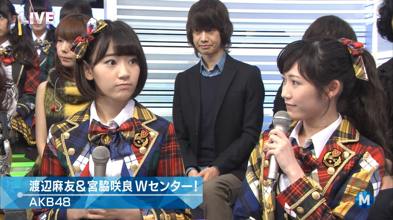 宮脇咲良 Mステ AKB48希望的リフレイン20141121 (30)
