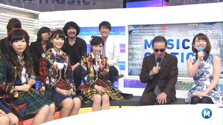 宮脇咲良 Mステ AKB48希望的リフレイン20141121 (39)