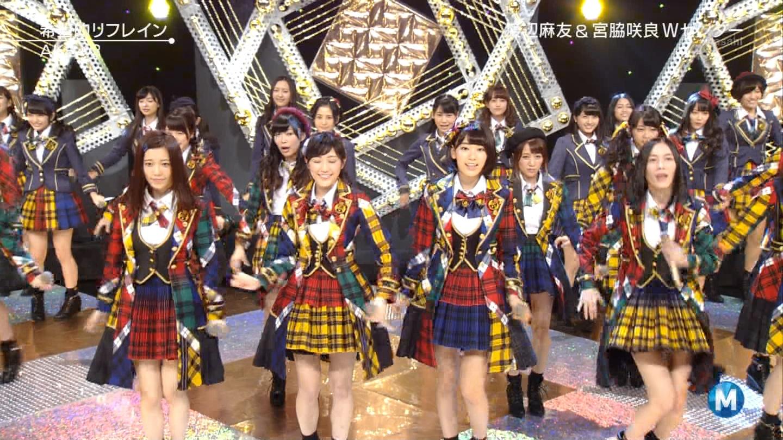 宮脇咲良 Mステ AKB48希望的リフレイン20141121 (47)
