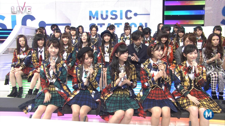 宮脇咲良 Mステ AKB48希望的リフレイン20141121 (13)