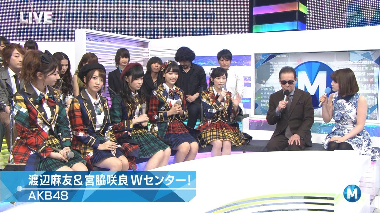 宮脇咲良 Mステ AKB48希望的リフレイン20141121 (25)