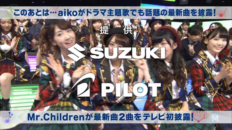 宮脇咲良 Mステ AKB48希望的リフレイン20141121  (105)