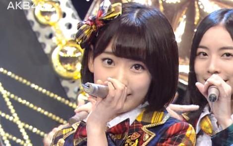 宮脇咲良 Mステ AKB48希望的リフレイン