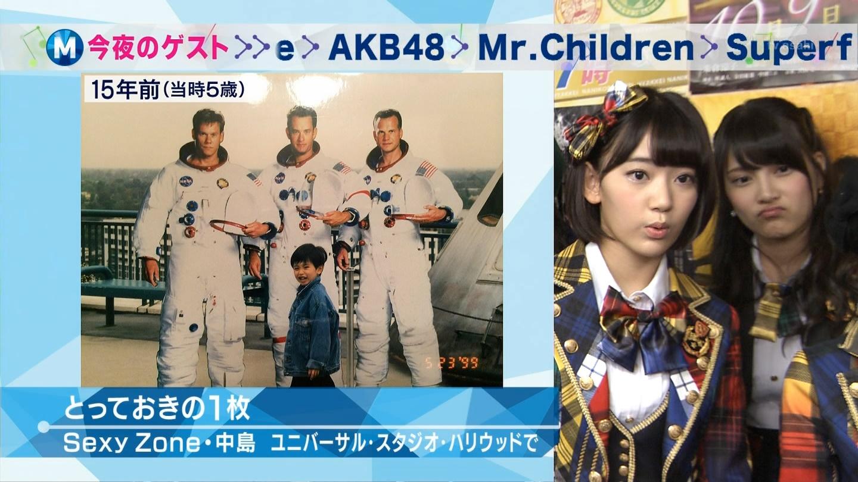 宮脇咲良 Mステ AKB48希望的リフレイン20141121 (5)