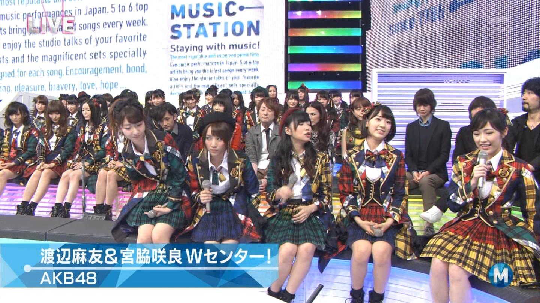 宮脇咲良 Mステ AKB48希望的リフレイン20141121 (24)