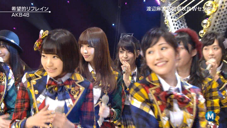 宮脇咲良 Mステ AKB48希望的リフレイン20141121 (58)