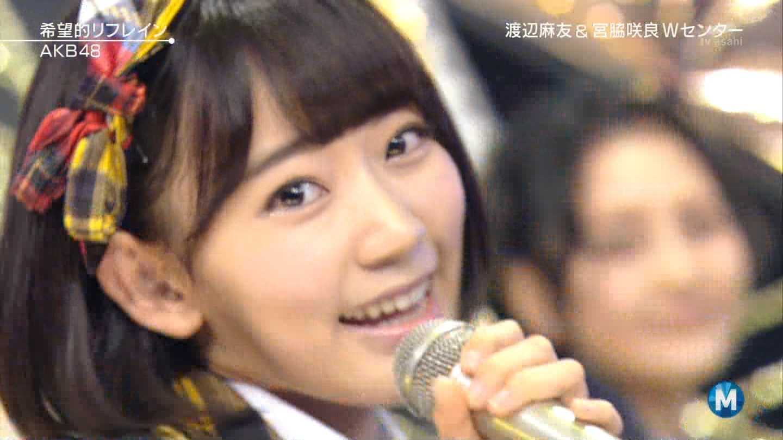 宮脇咲良 Mステ AKB48希望的リフレイン20141121 (82)
