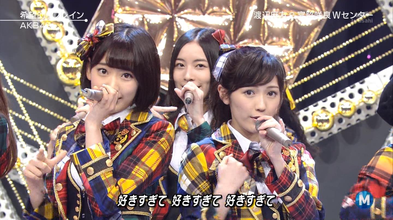 宮脇咲良 Mステ AKB48希望的リフレイン20141121 (60)