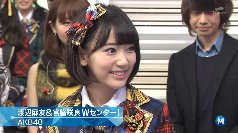 宮脇咲良 Mステ AKB48希望的リフレイン20141121 (36)