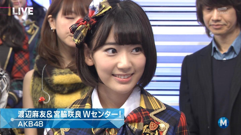 宮脇咲良 Mステ AKB48希望的リフレイン20141121 (28)