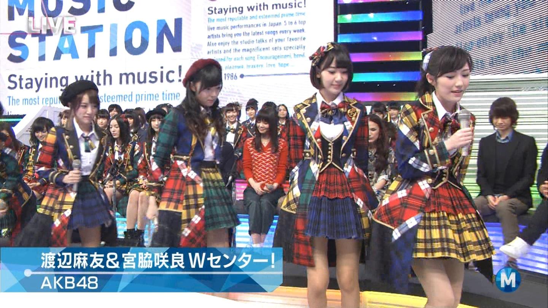 宮脇咲良 Mステ AKB48希望的リフレイン20141121 (22)