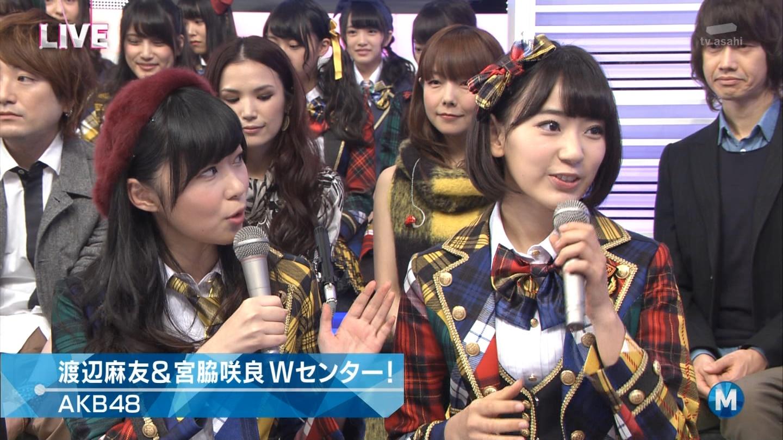 宮脇咲良 Mステ AKB48希望的リフレイン20141121 (34)