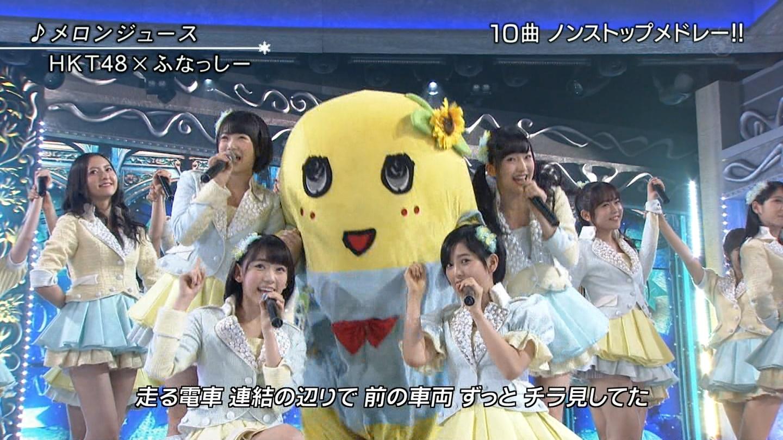 宮脇咲良 FNS歌謡祭20141203 (3)