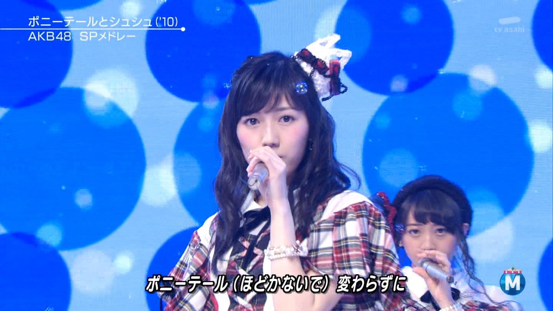 渡辺麻友 ミュージックステーションSP 20141226 (23)