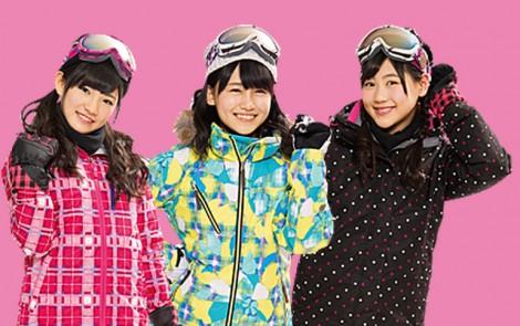 小嶋真子&西野未姫&岡田奈々 アルペンCM スキー&スノボ (1)