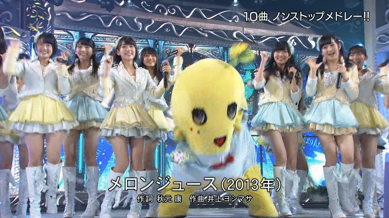 宮脇咲良 FNS歌謡祭20141203