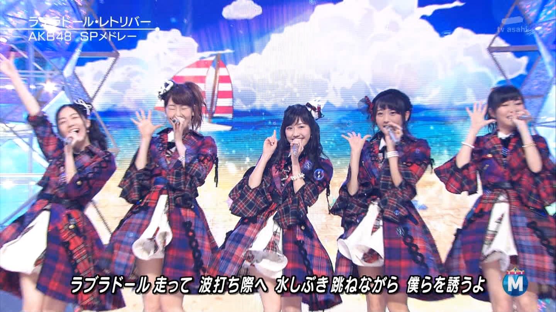 渡辺麻友 ミュージックステーションSP 20141226 (13)
