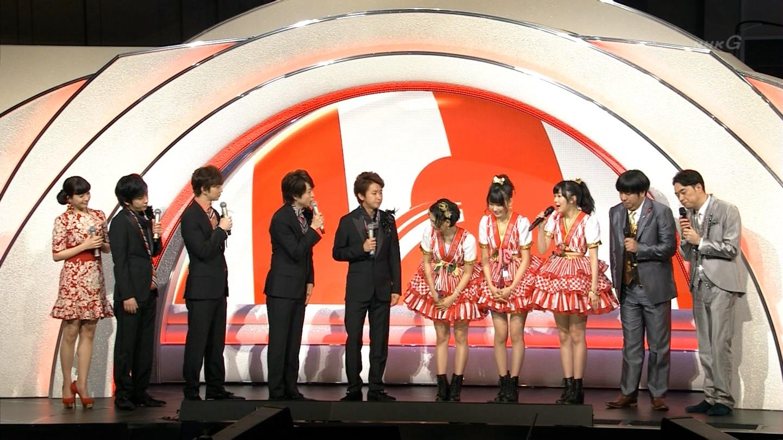 宮脇咲良 HKT48 紅白歌合戦2014  (51)