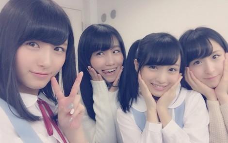 UTB 3月号 表紙:大和田南那、小嶋真子、向井地美音、川本紗矢