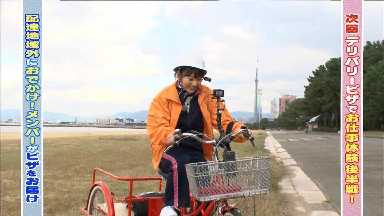 宮脇咲良 HKT48おでかけ ピザ 20141211 (62)