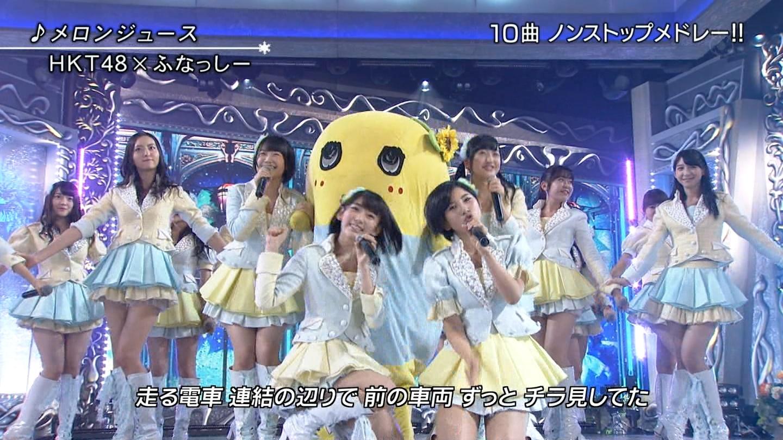 宮脇咲良 FNS歌謡祭20141203 (2)