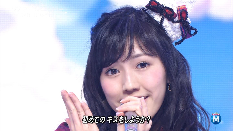 渡辺麻友 ミュージックステーションSP 20141226 (15)