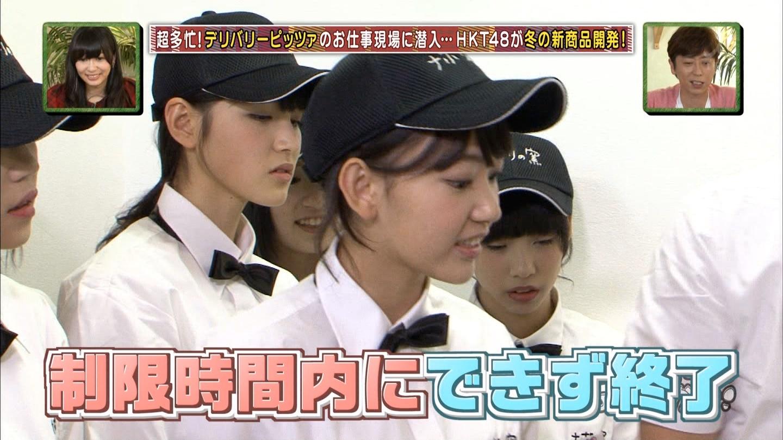 宮脇咲良 HKT48おでかけ ピザ 20141211 (12)