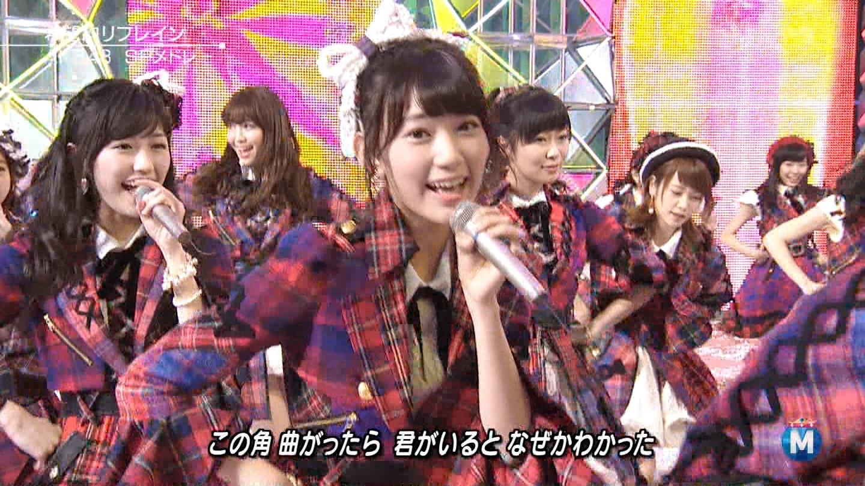 渡辺麻友 ミュージックステーションSP 20141226 (4)