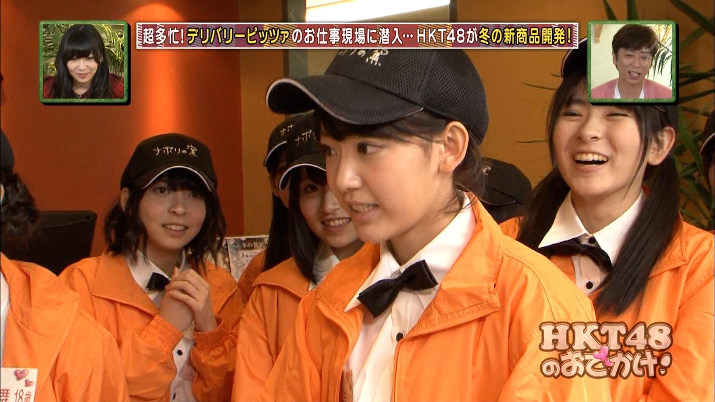 宮脇咲良 HKT48おでかけ ピザ 20141211 (35)