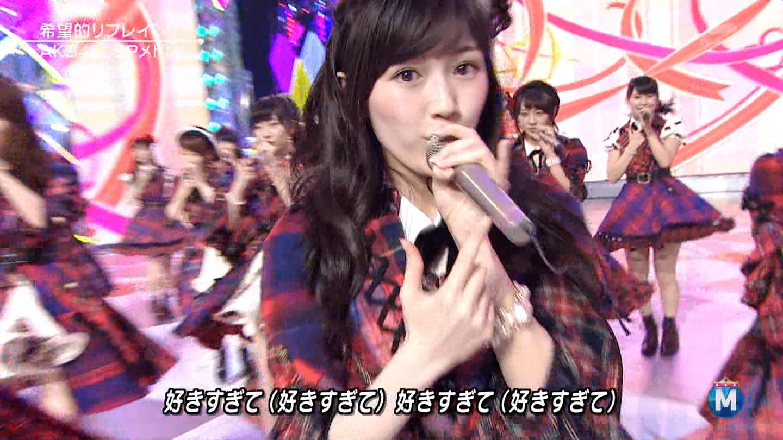 渡辺麻友 ミュージックステーションSP 20141226 (6)