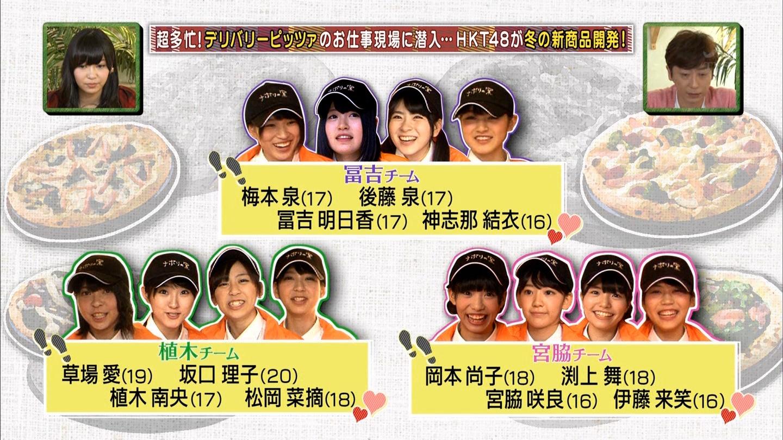 宮脇咲良 HKT48おでかけ ピザ 20141211 (23)
