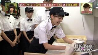 宮脇咲良 HKT48おでかけ ピザ 20141211 (10)