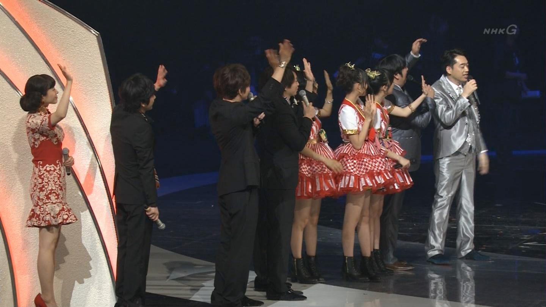 宮脇咲良 HKT48 紅白歌合戦2014  (66)