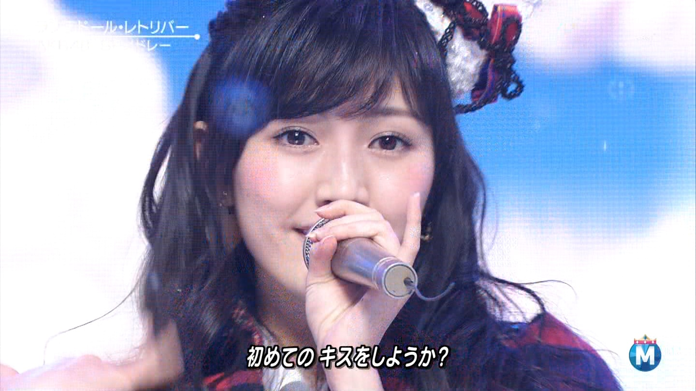 渡辺麻友 ミュージックステーションSP 20141226 (14)
