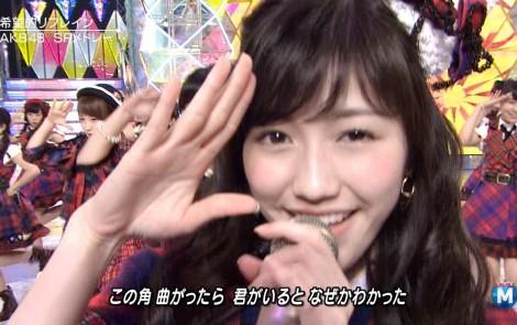 渡辺麻友 ミュージックステーションSP 20141226 (5)