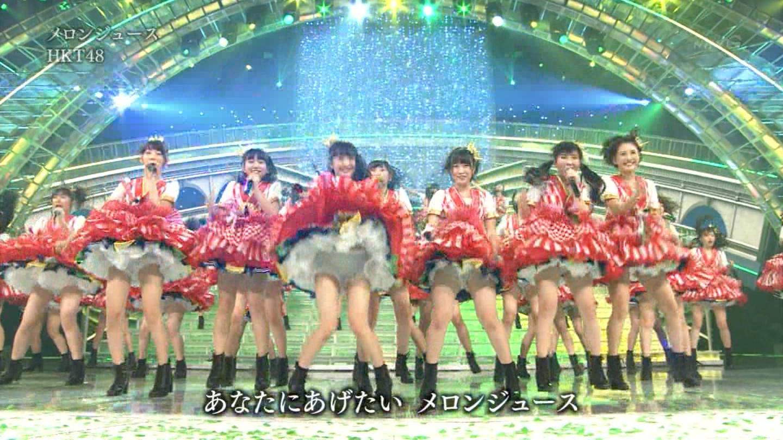 宮脇咲良 HKT48 紅白歌合戦2014 (48)