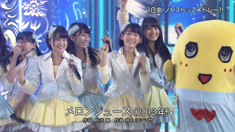 宮脇咲良 FNS歌謡祭20141203 (1)