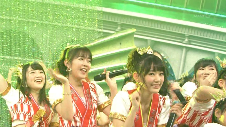 宮脇咲良 HKT48 紅白歌合戦2014 (45)