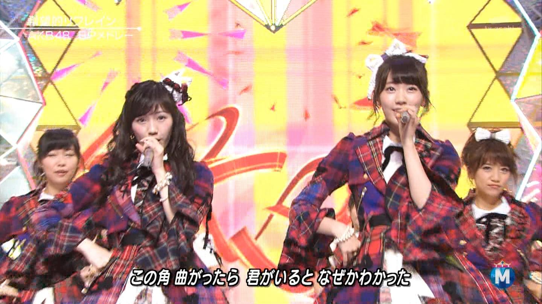 渡辺麻友 ミュージックステーションSP 20141226 (3)
