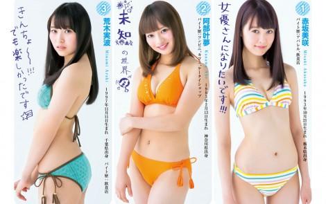 ヤングジャンプNo.3 バイトAKB48 (3)