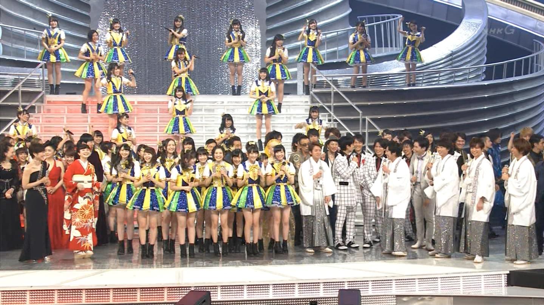宮脇咲良 HKT48 紅白歌合戦2014 (3)