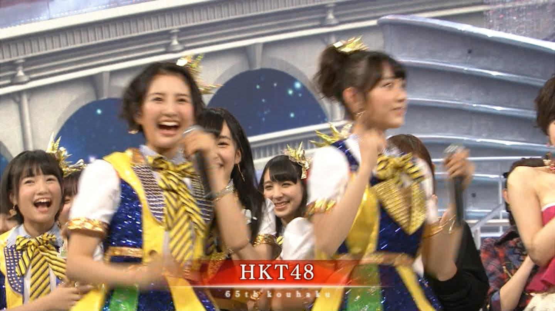 宮脇咲良 HKT48 紅白歌合戦2014 (1)