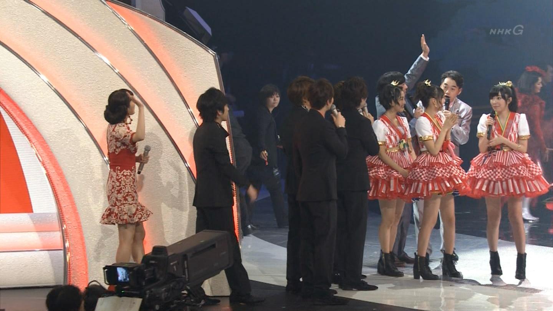 宮脇咲良 HKT48 紅白歌合戦2014  (64)