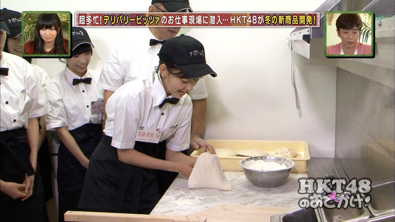 宮脇咲良 HKT48おでかけ ピザ 20141211 (6)